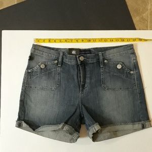Rock & Republic Jean Shorts **NEW** 16